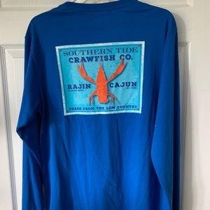 Southern Tide long sleeve T-shirt with pocket